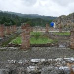 Excavated Roman ruins at Conímbriga were thrilling to visit (even in the rain).