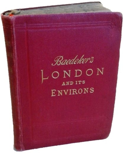 Baedeker's London and Its Environs, 1908