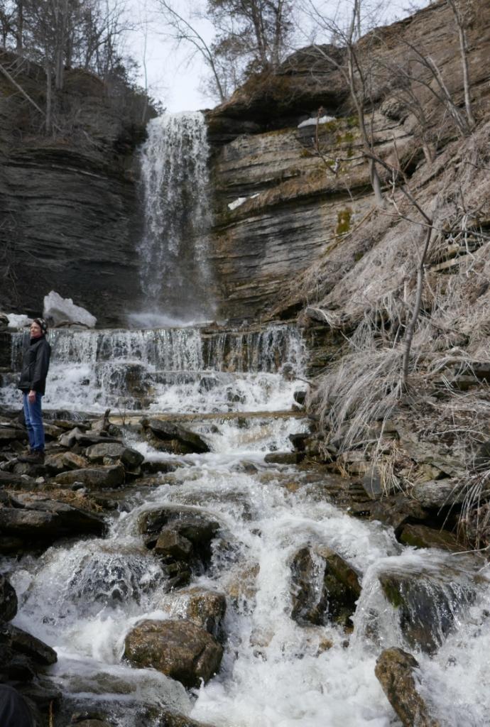 Cape Vesey Falls, Prince Edward County, Ontario