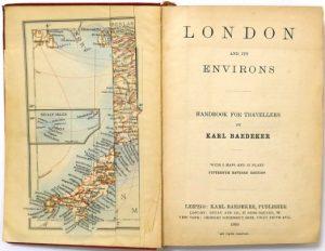 Baedeker's London Title Page