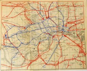 Railway Map of London