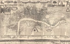 Morgan's Map of the Whole of London in 1682