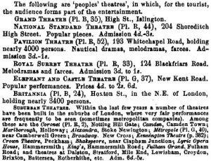 Peoples' Theatres