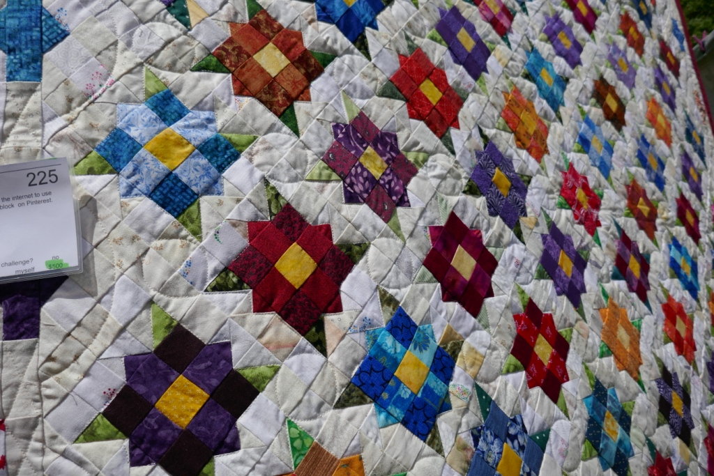 """Variety Garden"" Quilt by Robert Gutcher"