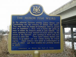 The Huron Fish Weirs